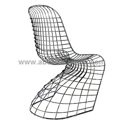 verner panton chair wire chair. Black Bedroom Furniture Sets. Home Design Ideas