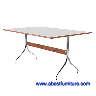 Swag Leg Work Table Replica Swag Leg Work Table Walnut